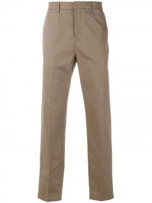 Классические брюки-чинос Golden Goose. Цвет: нейтральные цвета