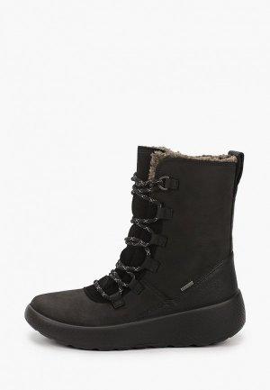 Ботинки Ecco UKIUK KIDS. Цвет: черный