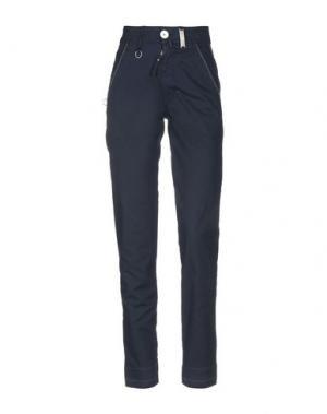 Повседневные брюки HIGH by CLAIRE CAMPBELL. Цвет: темно-синий