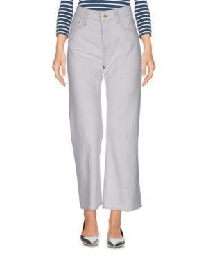 Джинсовые брюки CYCLE. Цвет: белый