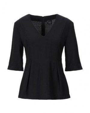 Блузка GOTHA. Цвет: черный