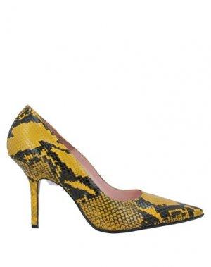Туфли ANNA F.. Цвет: желтый