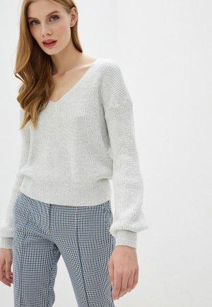 Пуловер Miss Selfridge. Цвет: серый