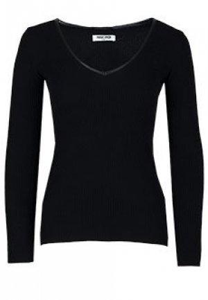 Пуловер MAX & MOI. Цвет: черный
