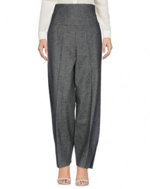 Повседневные брюки AQUILANO-RIMONDI. Цвет: серый
