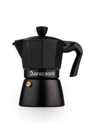 Кофеварка Barazzoni. Цвет: черный