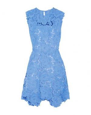 Короткое платье CATHERINE DEANE. Цвет: небесно-голубой
