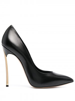 Туфли-лодочки Blade Casadei. Цвет: черный