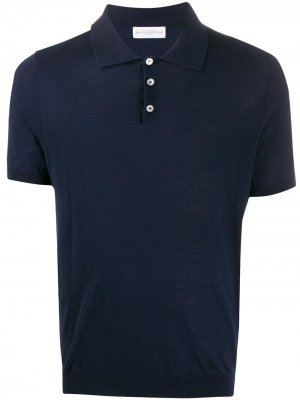 Рубашка-поло узкого кроя Ballantyne. Цвет: синий