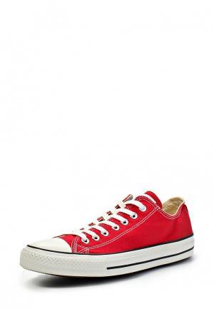 Кеды Converse ALL STAR OX RED. Цвет: красный