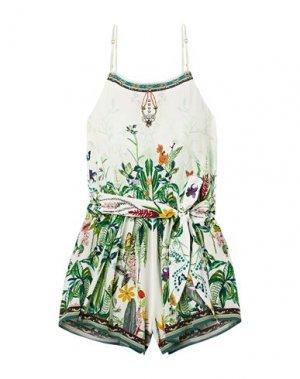 Пляжное платье CAMILLA. Цвет: зеленый