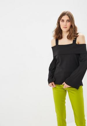 Блуза Ruxara. Цвет: черный