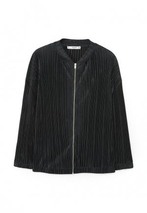 Куртка Mango - FEELING. Цвет: черный