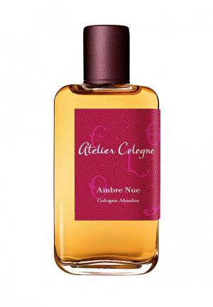 Парфюмерная вода Atelier Cologne AMBRE NUE Absolue 100 мл. Цвет: прозрачный