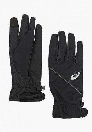 Перчатки беговые ASICS THERMAL GLOVES. Цвет: черный