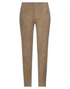 Повседневные брюки JITROIS. Цвет: хаки