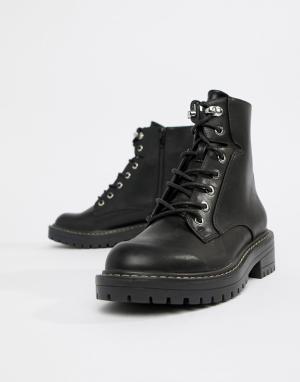 Походные ботинки -Черный Blink