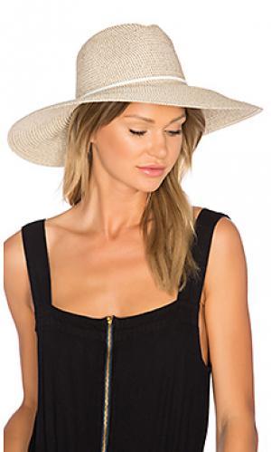 Шляпа sancho ale by alessandra. Цвет: коричневый