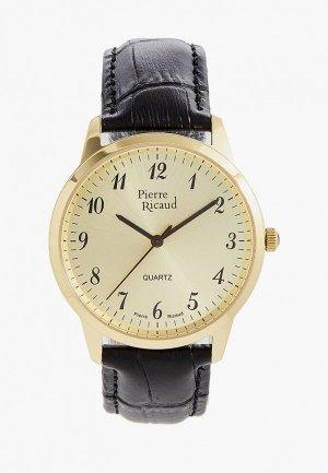 Часы Pierre Ricaud. Цвет: черный