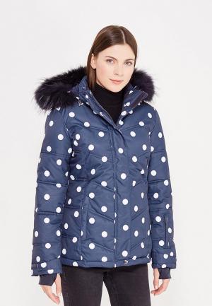 Куртка горнолыжная Baon. Цвет: синий