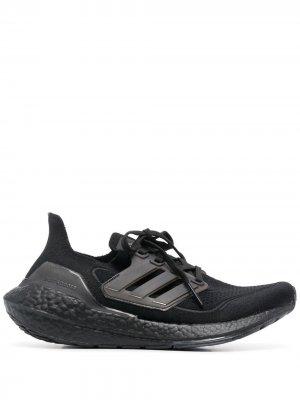 Кроссовки Ultraboost 21 adidas. Цвет: черный