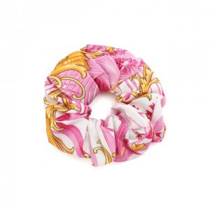 Резинка для волос Versace. Цвет: розовый