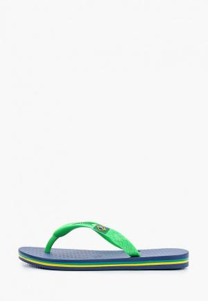 Сланцы Ipanema. Цвет: зеленый