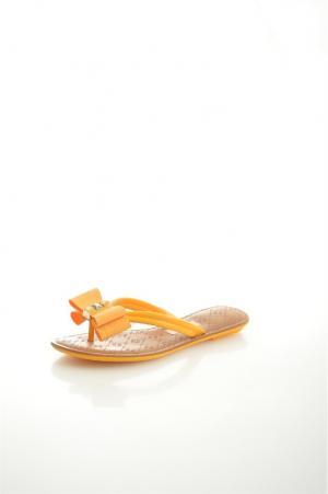Шлепанцы Grendha. Цвет: желтый