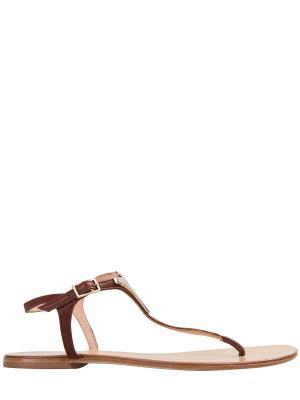 Сандалии Les Copains. Цвет: коричневый