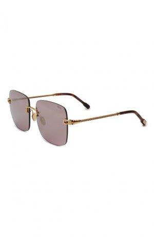 Солнцезащитные очки Fred. Цвет: розовый