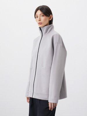 Куртка Элиста с большими карманами GATE31. Цвет: светло-серый