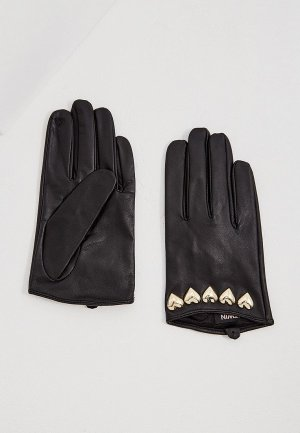 Перчатки Twinset Milano MY TWIN. Цвет: черный