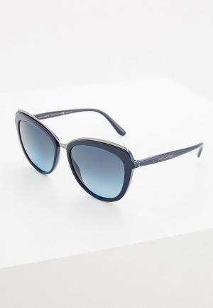 Очки солнцезащитные Dolce&Gabbana DG4304 3119K4. Цвет: синий