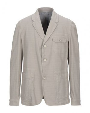 Пиджак TRUSSARDI JEANS. Цвет: голубиный серый