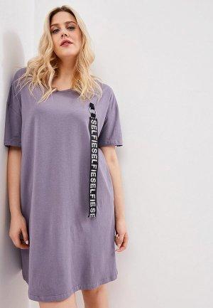 Платье Sitlly. Цвет: фиолетовый