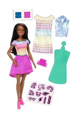 Crayola Брюнетка Barbie. Цвет: мультицвет, розовый