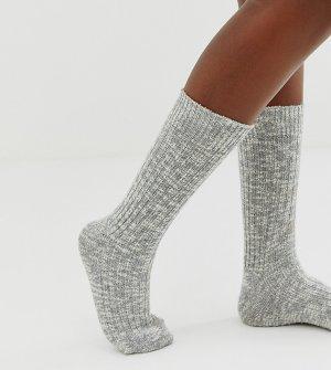 Серые носки из меланжевого хлопка -Серый Birkenstock