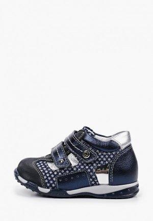 Ботинки Elegami. Цвет: синий