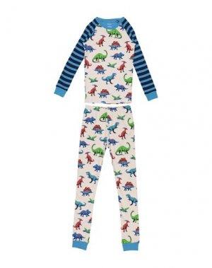 Пижама HATLEY. Цвет: бежевый