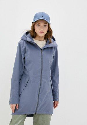Куртка Didriksons FOLKA. Цвет: голубой