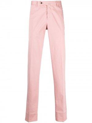 Прямые брюки чинос Pt01. Цвет: розовый