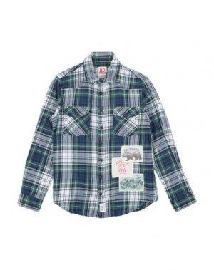 Pубашка AMERICAN OUTFITTERS. Цвет: темно-зеленый