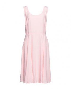 Платье миди CALVIN KLEIN JEANS. Цвет: розовый