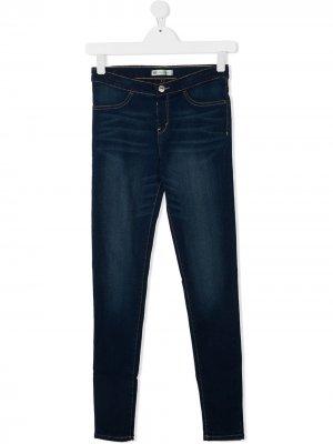 Levis Kids джинсы скинни Levi's. Цвет: синий