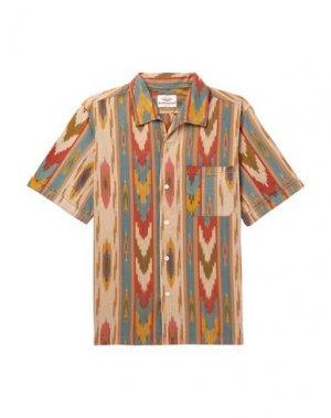 Pубашка BATTENWEAR. Цвет: бежевый