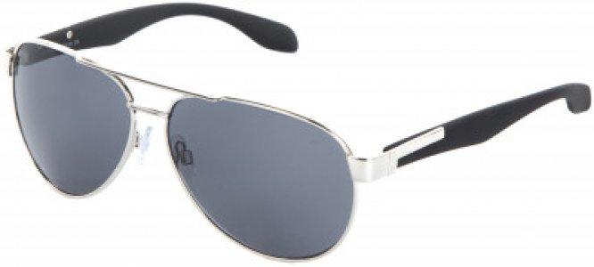 Солнцезащитные очки Demix. Цвет: серебристый