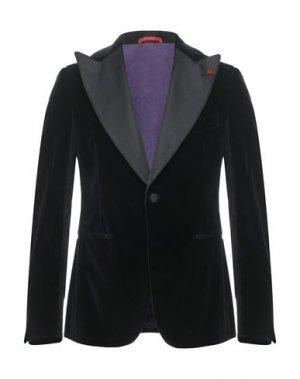 Пиджак ISAIA. Цвет: черный