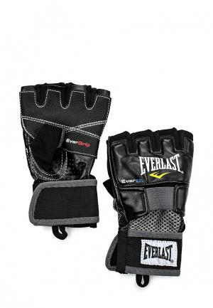 Перчатки для фитнеса Everlast Evergel Weight Lifting. Цвет: черный