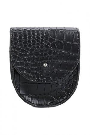 Поясная сумка BEZKO. Цвет: черный