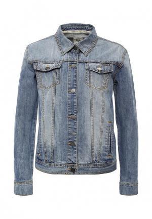 Куртка джинсовая Billabong LOUISE. Цвет: голубой